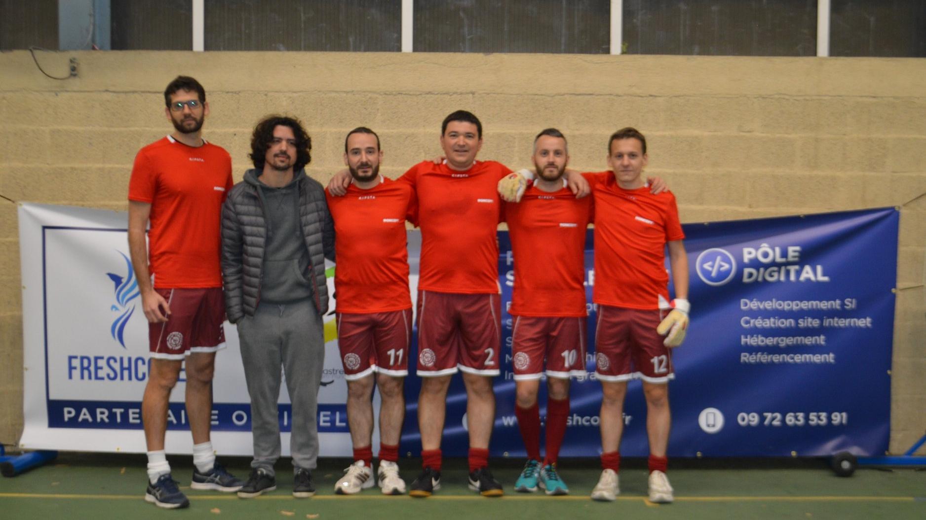Valeur du sport - Équipe BeProject futsal